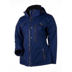 Obermeyer Bianca Ski Jacket in Navy and Black
